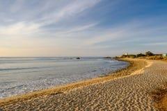 USA Stillahavskusten, Leo Carrillo State Beach, Kalifornien Royaltyfri Fotografi