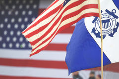 USA straż przybrzeżna Pomocnicza fotografia royalty free