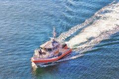 USA straży przybrzeżnej port Los Angeles obrazy stock