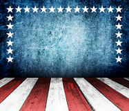 USA style background Stock Photo