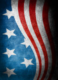 USA style background. On old grunge canvas vector illustration