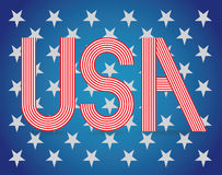 USA-Symbol Stockbild