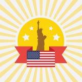 USA symbol Stock Photography