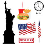 Usa symbols Royalty Free Stock Images
