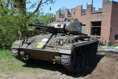 Usa tank bridgehead Bussum Stock Photos