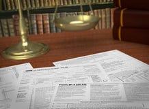 Usa taxes Stock Photos