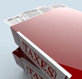 Usa taxes Stock Photography