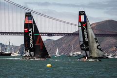 USA Team in America's Cup World Series Stock Photography