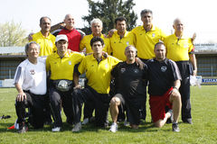 USA team gegen der IRAN-Team, Jugendfußball Stockbilder