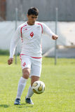 USA team vs IRAN team, youth soccer Stock Photos