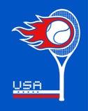 USA tennis Royalty Free Stock Photography