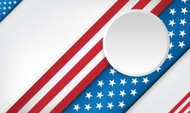 USA 4th of July background design Royalty Free Stock Image