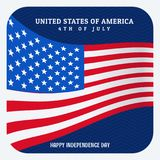 Usa 4th of july independence day Royalty Free Stock Photos