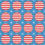 USA theme pattern Royalty Free Stock Photography