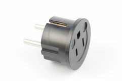 USA to Euro Electrical Adaptor Stock Photography