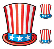 Usa top hat Royalty Free Stock Photo