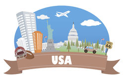 USA. Tourism and travel Stock Photography