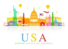 USA Travel Landmarks. Stock Image