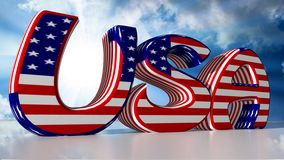 USA: United States of America Stock Image