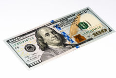 USA valutasedel Arkivfoto