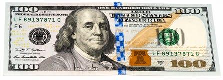 USA valutasedel Arkivbild