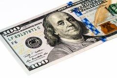 USA valutasedel Arkivfoton