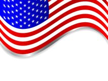USA vector background Royalty Free Stock Photo