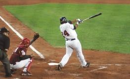 USA-Venezuela baseball game Royalty Free Stock Photo