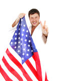 Usa victory Stock Photography