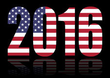 Usa 2016 vote Royalty Free Stock Photography