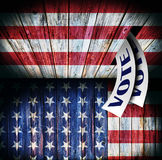 USA, voting concept design Stock Photo