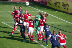 USA vs Denmark Royalty Free Stock Images