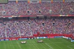 USA vs Japan Final at FIFA Women's World Cup Canada2015 Royalty Free Stock Photo