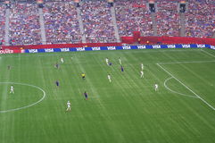 USA vs Japan Final at FIFA Women's World Cup Stock Photography