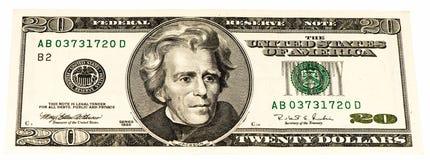 USA-Währungsbanknote Lizenzfreies Stockfoto