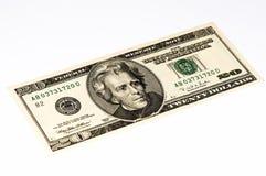 USA-Währungsbanknote Lizenzfreies Stockbild