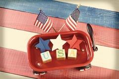 USA Wagon Royalty Free Stock Photography
