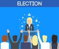 USA-Wahlthema Lizenzfreie Stockfotos