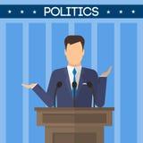 USA-Wahlthema Stockfotos