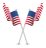 The USA Waving Flag Stock Photos