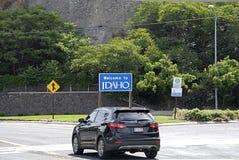 USA_WELCOME TO IDAHO Stock Image