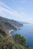 USA West coast. Showing the north pacific ocean in California Stock Photography