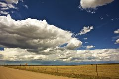 USA West Plains Stock Photo