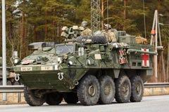 USA wojska dragonu przejażdżka Zdjęcia Royalty Free