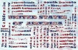 USA-Wolke Stockfoto
