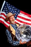USA world domination Royalty Free Stock Images
