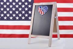 USA wybory zawiadomienia deska Zdjęcie Stock