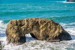 USA wybrzeże pacyfiku, łuk skała, Oregon stan Zdjęcia Royalty Free