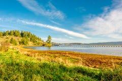 USA wybrzeże pacyfiku krajobraz, przylądka rozczarowanie zdjęcie stock