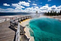 USA - Yellowstone NP arkivbilder